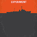 No126 My The Philadelphia Experiment Minimal Movie Poster by Chungkong Art