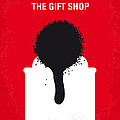 No130 My Exit Through The Gift Shop Minimal Movie Poster by Chungkong Art