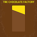No149 My Willy Wonka And The Chocolate Factory Minimal Movie Poster by Chungkong Art