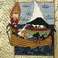 Noahs Ark. 16th C. Ottoman Art by Everett
