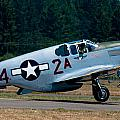 North American P-51 Mustang by Chris McKenna