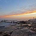 North Point Sunset by CJ Schmit
