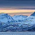Norwegian Coast Print by Wade Aiken