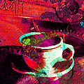 Nothing Like A Hot Cuppa Joe In The Morning To Get The Old Wheels Turning 20130718m43 by Wingsdomain Art and Photography