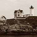 Nubble Light by Skip Willits