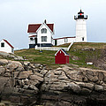 Nubble Lighthouse Cape Neddick Maine 4 by Glenn Gordon