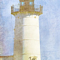 Nubble Lighthouse Poster by Carol Leigh