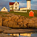 Nubble Lighthouse No 1 by Jerry Fornarotto