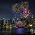 NYC Celebrates Fleet Week Print by Susan Candelario