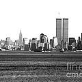 NYC Skyline 1990s Print by John Rizzuto
