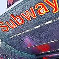 Nyc Subway by Linda  Parker