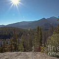 Nymph Lake And Longs Peak by Kay Pickens