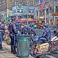 Nypd Highway Patrol by Ron Shoshani