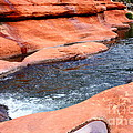 Oak Creek At Slide Rock by Carol Groenen