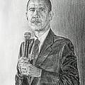 Obama 3 by Michael Morgan
