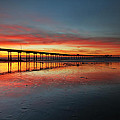 Ocean Beach California Pier 3 by Larry Marshall