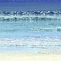 Ocean Colors Abstract by Elena Elisseeva