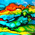 Ocean Tempest Tile by Alene Sirott-Cope