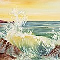 Ocean Waves II by Summer Celeste
