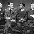 Ocean's Eleven Rat Pack by Underwood Archives