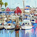Oceanside California by Mary Helmreich