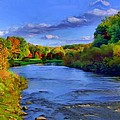 October On The Cuyahoga by Dennis Lundell