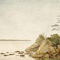Offshore Rocks Oregon Coast by Carol Leigh