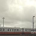 Ohare Airport Peoplemover by Deborah Smolinske