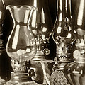 Oil Lamps by Patrick M Lynch