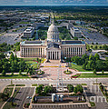 Oklahoma City State Capitol Building A by Cooper Ross