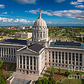 Oklahoma City State Capitol Building C by Cooper Ross