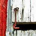 Old Barn Door Hook by Julie Dant