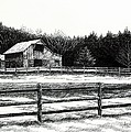 Old Barn In Franklin Tennessee by Janet King