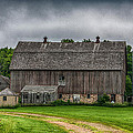 Old Barn On A Stormy Day by Paul Freidlund