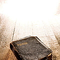 Old Bible In Divine Light by Olivier Le Queinec