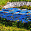Old Blue Boat by Garry Gay