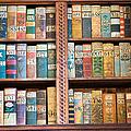 Old Books In Prague by Matthias Hauser