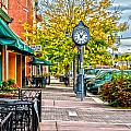 Old Clock by Baywest Imaging