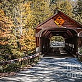 Old Covered Bridge Vermont by Edward Fielding