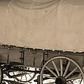 Old Covered Wagon Out West by Dan Sproul