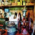 Old-fashioned Coffee Grinder by Susan Savad