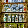Old Fashioned Milk Bottles by Susan Candelario