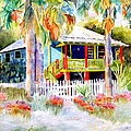 Old Florida House  by Joan Dorrill
