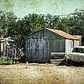 Old Garage And Car In Seligman by RicardMN Photography