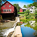 Old Grist Mill  by Colleen Kammerer