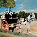 Old Junier's Cart by Henri Rousseau