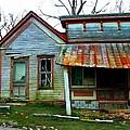 Old Leavenworth Indiana by Julie Dant