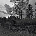 Old Liberty Park Ruins In Spokane Washington by Daniel Hagerman