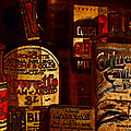Old Pharmacy Bottles - 20130118 V2b by Wingsdomain Art and Photography