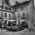 Old Quebec City Bw by Mel Steinhauer
